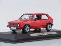 Scale model 1/43 Volkswagen Golf I GTI 1976 Red