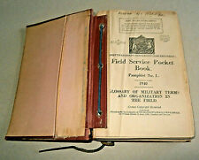 More details for field service pocket book. hmso.1939-41. illustrated. hardback. fair condition.