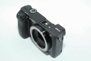 NEW SONY A6000 Camera cabinet with LCD Screen  Lens Connection Ring assy