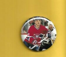 "Guy Carbonneau Montreal Canadians 2"" Hockey Pin Back Button"