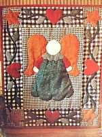 Little Angel Wallhanging Quilt Kit Primitive Rachel's of Greenfield 1998 NEW