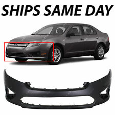NEW Primered Front Bumper Cover Fascia for 2010 2011 2012 Ford Fusion and Hybrid