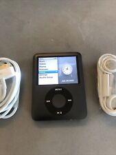 Apple iPod Nano 3rd Generation Black (8 GB) New Battery. New LCD