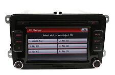 Volkswagen RCD510RVC 6 Disc CD Player RCD510 Radio Golf Passat Tiguan Polo Jetta