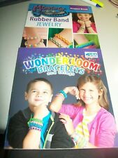Wonder Loom - 2 Project Books - Lots of designs - NEW - Great gift idea - Nice