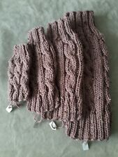 Hand Knitted Chunky Pink/Mauve Dog Jumpers.  Any size. Custom made. Gift idea.