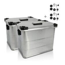 Borse Laterali alluminio Bagtecs 2 x 45l + Kit montaggio per portavaligie 18 mm