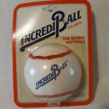Vtg Incrediball Sealed In Package 1987 Safety Softball