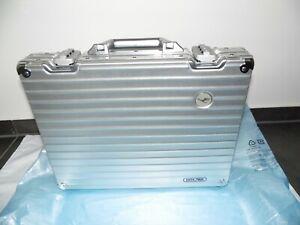 Rimowa Lufthansa Aluminium slim  Aktenkoffer  silber Baujahr 1999