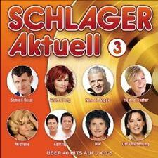 SCHLAGER AKTUELL VOl. 3 (2 CD) JÜRGEN DREWS HÖHNER ANDY BORG ELLA ENDLICH NEU