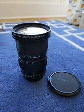 Canon FD 35-105mm f/3.5 lens with lens cap and hood