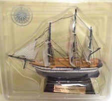 Americo Vespuccio 1928 Barco velero madera 13-15 cms Agostini sailing boat