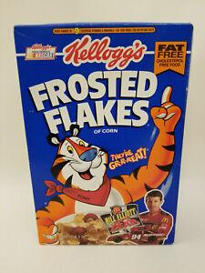 RARE 1995 Kellogg's Frosted Flakes UNOPENED Cereal Box BILL ELLIOTT NASCAR
