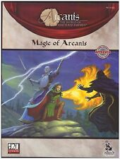 Arcanis: Magic of Arcanis - d20 Rpg Fanasy Soucebook - Dungeons & Dragons