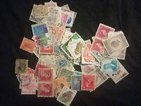 lot N°78 - 90 timbres BELGIQUE