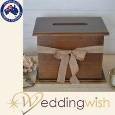Rustic Timber Large Wooden Wishing Well,  Wedding Card Box