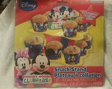 Disney Mickey Mouse Clubhouse Party Snack Stand  Displays 16 treats cupcakes