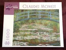 Claude Monet The Japanese Footbridge 1000 pc Jigsaw Puzzle NEW SEALED River
