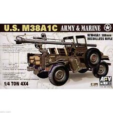 1/35 AFV Club U.S M38A1C Army and Marine US 1/4 Ton 4x4 w/M40A1 106mm #35S19