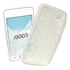 Silicona TPU Cover Case Handy transparente para Samsung i9003 Galaxy SL