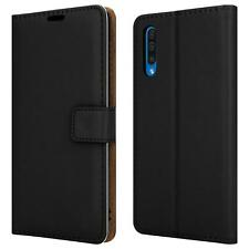 For Huawei P Smart S Case, Magnetic Leather Wallet Phone Cover + 9H Screen Glass