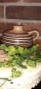 Strehla DDR Keramik Vase 9025 * Skandinavisches Design * 60er