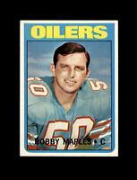 1972 Topps Football #52 Bobby Maples (Oilers) NM