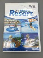 Wii Sports Resort - (Nintendo, 2009) Game Complete In Box CIB w/Manual - B38