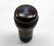 Nardi Evolution Gear Shift (Shifter) Knob - Dark Mahogany Wood - 3200.00.5006