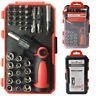 Drillforce 46 in 1 Magnetic Screwdriver Socket Set Torx Phillips Slotted Bits
