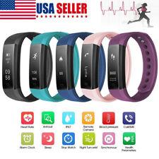 Smart Bracelet Heart Rate Monitor Blood Step Counter Fit*Bit Tracker Smart Watch