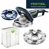 Festool Meule Diamant Rg 130 Kit-E Diapositive Th Renofix 768981 + Gratis HD St