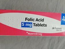 Folic Acid 5mg Tablets