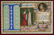 """PAPA INNOCENZO VIII POPE INNOCENTIUS VIII postcard illustrata NV """"900 f/p #3239"""