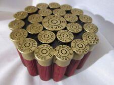 Mini 12 Gauge Shotgun Shell Treasure Chest Trunk Box Jewelry Watch Storage Etc.