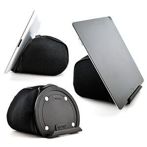 iProp Universal Tablet Bean Bag Lap/Bed Stand iPad Air Mini Pro, Samsung, Kindle