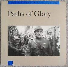 Paths Of Glory Kirk Douglas Stanley Kubrick World War 1 Criterion 67 LaserDisc