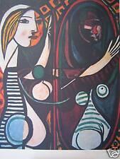 Picasso Pablo                          JEUNE FILLE DEVANT UN MIROIR 1932