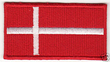 DENMARK Flag Country Patch