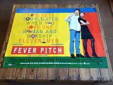 Used - FEVER PITCH Vintage Movie Film Poster Cartel Cine - FilmFour   1997