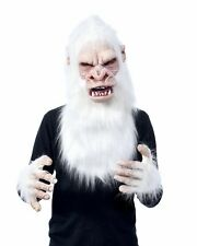 White Tree Hugger Gorilla Primate Ape Costume Kit