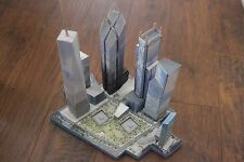 *Kit* New World Trade Center model 1:1800 scale (8 inches tall)
