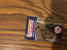 Yankees Dunkin' Donuts Gift Card