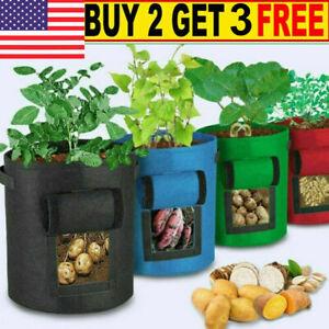Potato Vegetables Grow Planter Bags Garden Planting Plantt Pots for Growing US