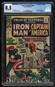 Tales of Suspense #60 Comic CGC VFN Plus Marvel Comics Second Hawkeye