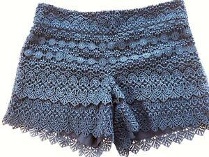 Womens shorts ANN TAYLOR LOFT size 4 navy Riviera Short NEW (ja59)