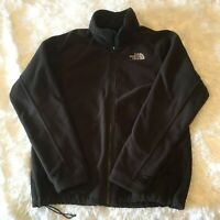 Women's THE NORTH FACE Khumbu Full Zip Fleece BROWN Jacket Size Large