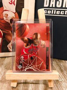 1993 Upper Deck Behind The Glass Michael Jordan *ICONIC RARE*