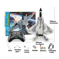 RTR RC RADIO REMOTE CONTROL F22 Raptor Model Fight Air Plane LARGE OUTDOOR 2.4G