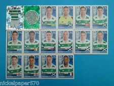 Topps Champions League 2016-17 2017 Team Celtic 2016 2017 completo